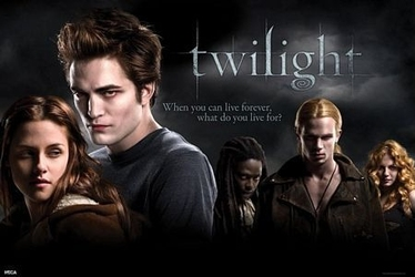 Twilight u.k quad - plakat