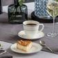 Zestaw kawowy dla 6 osób porcelana mariapaula nova ecru pure 18 elementów