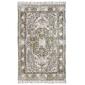 Hk living :: dywan bawełniany z nadrukiem i frędzlami 120x180
