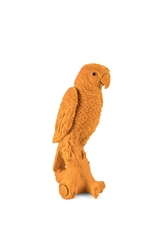 Bold monkey dekoracja papuga feeling tropical żółta bm89017
