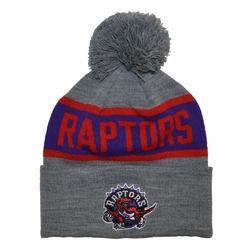 Czapka zimowa Mitchell  Ness NBA Toronto Raptors Team Tone Knit - TORRAP INTL536
