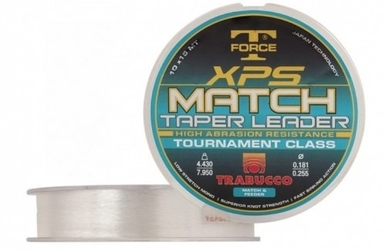 Żyłka trabucco xps match taper leader 0,1810,283