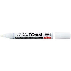 Marker olejowy toma - biały 2,5 mm - 2,5 mm