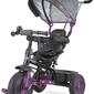 Toyz buzz purple rowerek trzykołowy z obracanym siedziskiem + prezent led