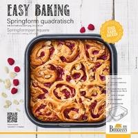 Tortownica kwadratowa z wyjmowanym dnem easy baking birkmann 881 709