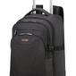Plecak na kołach american tourister at work na laptop 15,6 - czarnopomarańczowy
