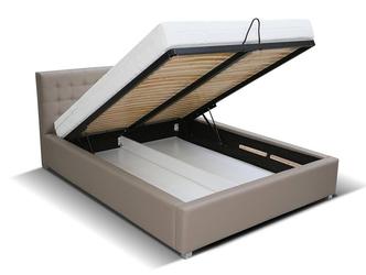 Tapicerowane łóżko do sypialni rosario 160x200