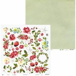 Papier świąteczny do scrapbookingu Rosy Cosy Christmas 30,5x30,5 cm - 07 - 07