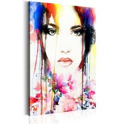 Obraz - kolorowa dama