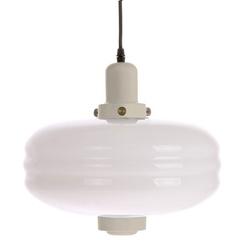 Hkliving lampa wisząca rozmiar l białe szkłokremowe akcenty vol5035