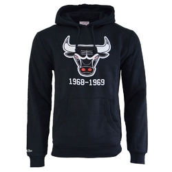 Bluza z kapturem mitchell  ness nba chicago bulls team logo