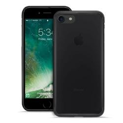 PURO Plasma Cover - Etui iPhone 8  7 ciemny przezroczysty