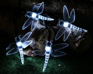 Lampki solarne 20 led 5m ważki z programatorem 8 funkcji ip44
