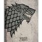 Gra o tron herb stark - obraz na płótnie