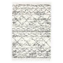 Vidaxl dywanik shaggy, berberyjski, pp, beżowo-piaskowy, 120x170 cm