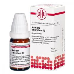 Natrium chloratum d 3 globuli