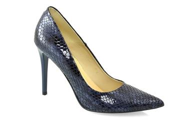 Czółenka zalbut arturo vicci 4700 viper blue