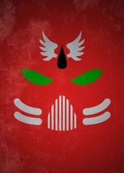 Warhammer 40k - the blood ravens - plakat wymiar do wyboru: 30x40 cm