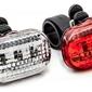 Zestaw lamp przód xc light 8003 3-diody,3-funkcje + tył 3-diody,3-funkcje