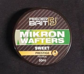 Dumbells feeder bait mikron wafters 4mm - sweet