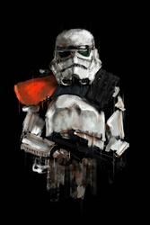 Star wars gwiezdne wojny szturmowiec dowódca - plakat premium wymiar do wyboru: 50x70 cm