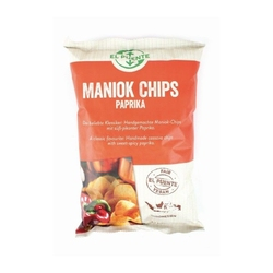 El puente | egzotyczne chipsy z manioku z papryką 100 g | fair trade