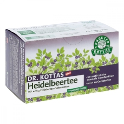 Dr.kottas herbata z borówką amerykańską, torebki