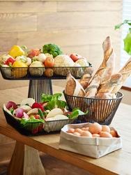 Koszyk na pieczywo - patera na ciasta revol touch rv-650503-1