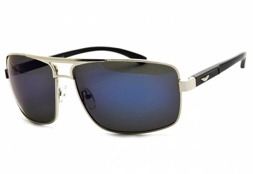 Pilotki polaryzacyjne okulary aviator lustrzane pol-70a