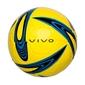 Piłka nożna vivo shape 4 żółto-niebieska