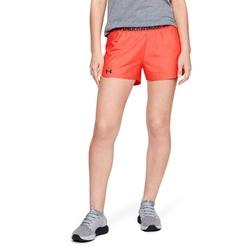 Spodenki krótkie damskie under armour play up 2.0 shorts - pomarańczowy