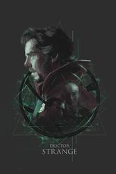 Doctor strange - plakat premium wymiar do wyboru: 40x50 cm