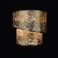 Kinkiet podwójny, wykończony złotą folią mw-light elegance 454021202