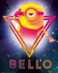 Gru, dru i minionki 80s bello - plakat z filmu