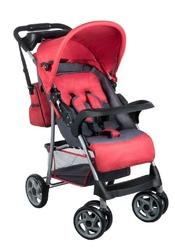 Lionelo emma plus red wózek składany na płasko + torba