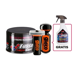 Soft99 new fusso coat 12 months dark wax 200g + soft99 ultra glaco + soft99 glaco glass compound roll on + gratis soft99 fusso coat speed  barrier sp