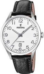 Festina titanium date f20467-1