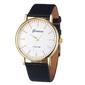 Zegarek damski złoty klasyczny geneva czarny