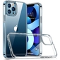 Etui obudowa case do apple iphone 12 pro max 6.7 silikonowe przezroczyste