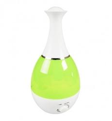 Nawilżacz powietrza jonizator aromaterapia zielony