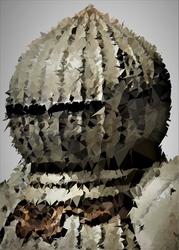 Polyamory - siegmeyer, dark souls - plakat wymiar do wyboru: 42x59,4 cm