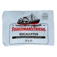 Fishermans friend eucalyptus mit zucker pastylki