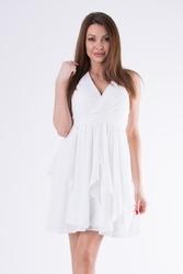 Evalola sukienka biały 58005-7