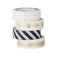 Taśma dekoracyjna washi tape noel bloomingville