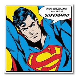 Superman quote - obraz na płótnie