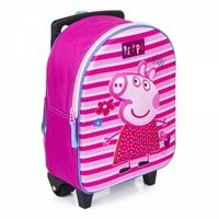 Plecak 3d na kółkach świnka peppa walizka