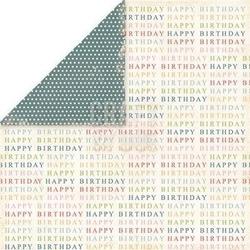 Ozdobny papier 30,5x30,5 cm- birthday party 02 - 02