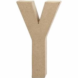 Litera z papier mache 20,5x2,5 cm - Y - Y