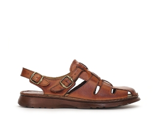 Sandały męskie ste 02107 brąz