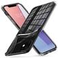 Etui spigen liquid crystal do apple iphone 11 crystal clear + szkło alogy - przezroczysty || bezbarwny